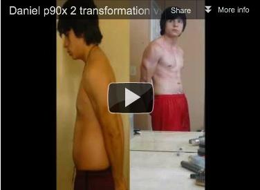 Daniel's P90X2 Results