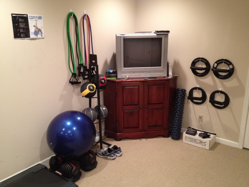 Your home gym p insanity body beast part