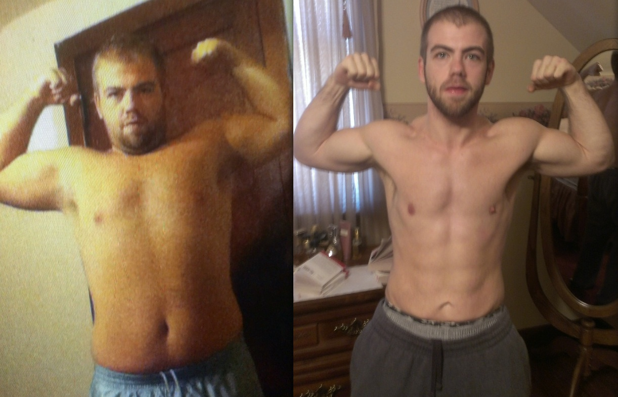 Alex goes from 230 to RIPPED!