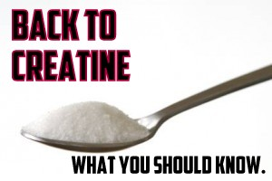 Back to Creatine