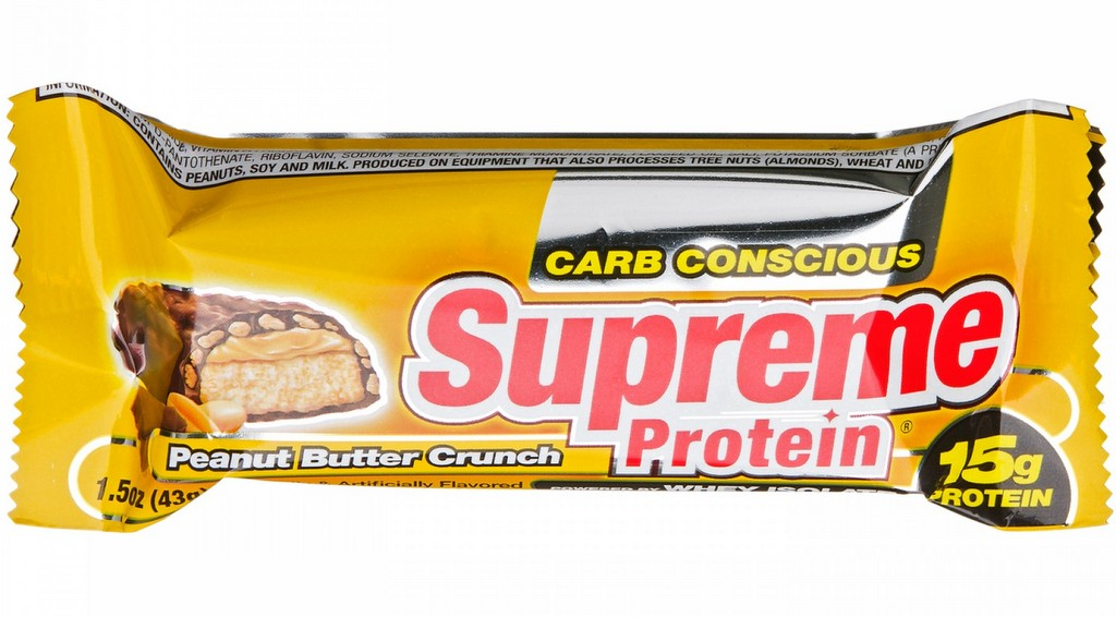 Supreme Protein Bar Nutritional Information - Nutrition Ftempo