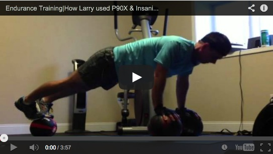 Larry's P90X Insanity Results!