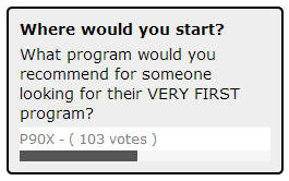Picking your FIRST Program