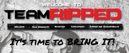 teamRIPPED Welcome Site
