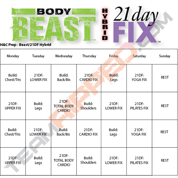 Free Beachbody Workout Downloads | Teamripped