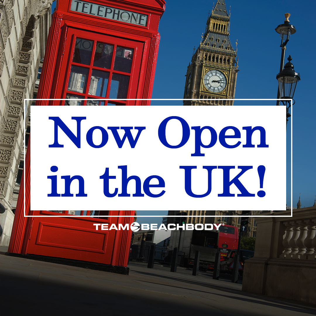 Team Beachbody in the UK is OPEN! - teamRIPPED